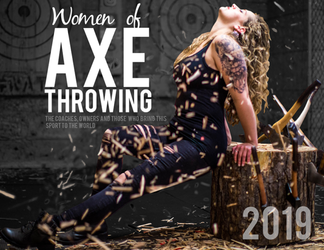 Agawam Axe Calendar-Women of Axe Throwing 2019