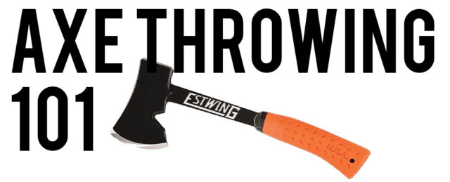 axe throwing 101 title image - agawam axe house