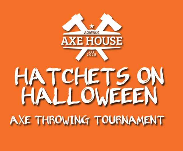 Hatchet on Halloween at Agawam Axe