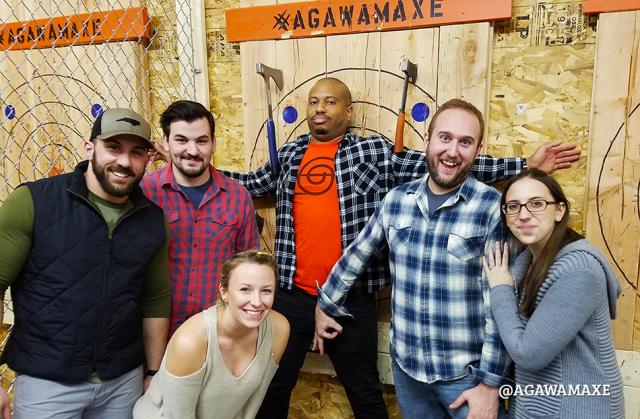 Agawam Axe House - Agawam Axe - Axe Throwing - Western Mass - Cutting edge entertainment