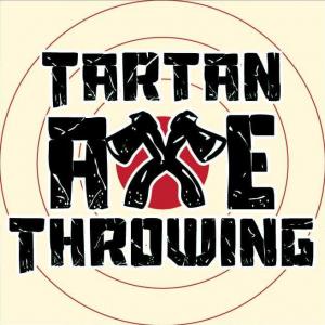 Tartan Axe Throwing logo - Sponsor 2021 Burn Battle